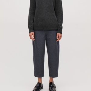 Twisted Seam Wool Trousers